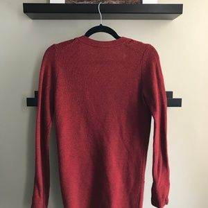 Fossil Sweaters - Red Cardigan with Pockets